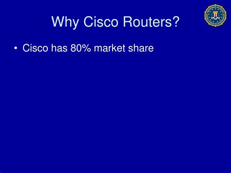 Cisco Background Check Ppt Fbi Criminal Investigation Cisco Routers Powerpoint Presentation Id 391615