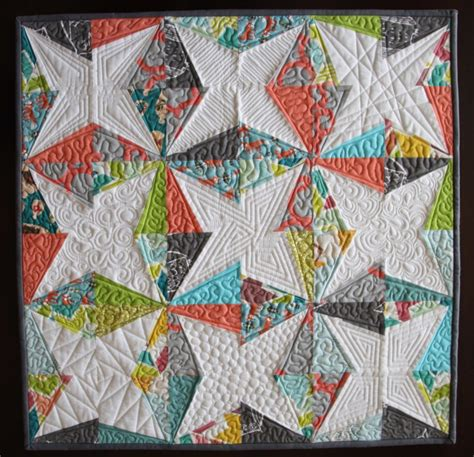 Modern Quilting by Tutorial Modern Quilt Finishing Techinques Spoonflower