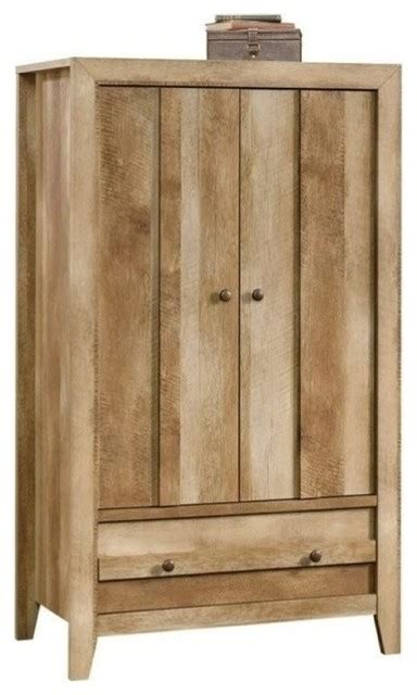 Pemberly Row Armoire Craftsman Oak Armoires And Craftsman Armoires And Wardrobes Houzz