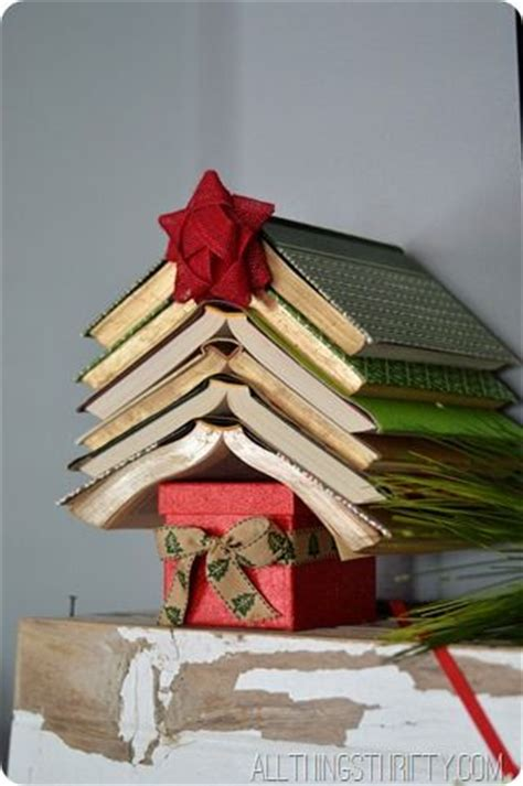 christmas crafts and decorations book themed ideas a book