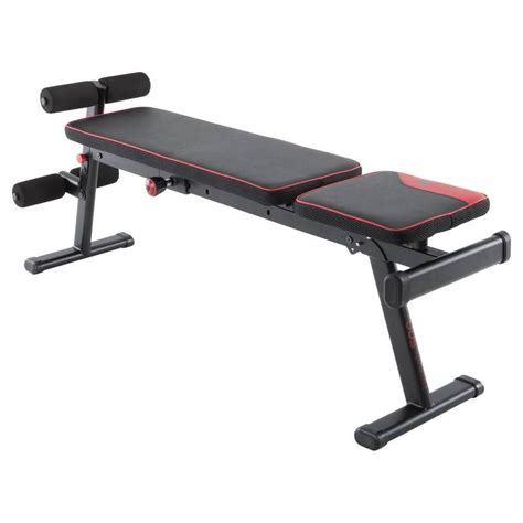banc 500 pliable et inclinable decathlon