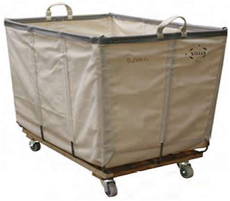 canvas laundry basket on wheels