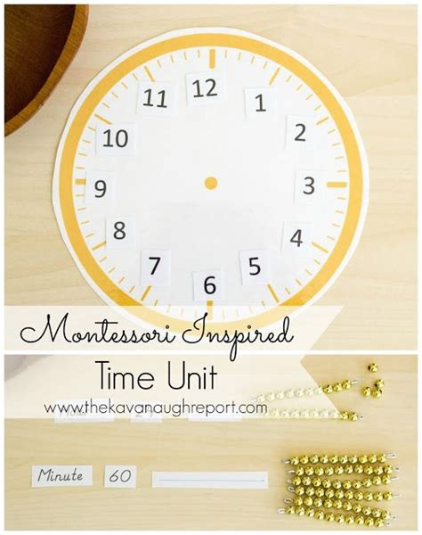 montessori clock printable 1000 images about montessori clock unit on pinterest to