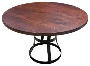 Kitchen Table Base Detroit Dining Table With Metal Base Industrial Dining Tables By Mortise Tenon