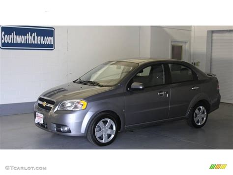 2009 medium gray chevrolet aveo lt sedan 18641533 gtcarlot car color galleries