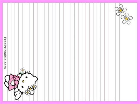 printable hello kitty envelope 30 best images about free printable stationary on