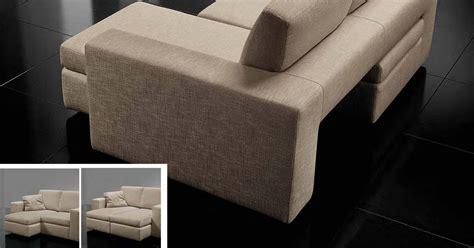 divano con sedute estraibili e spazioze arredamento moderno
