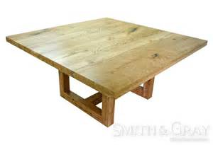Square Rustic Dining Table Square Rustic Loop Leg Dining Table Smith Gray