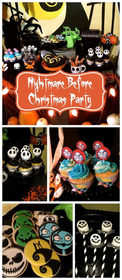 nightmare before baby shower cake sang maestro