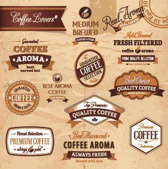Vector Coffee Label Free Vector Download 9 215 Free Vector For Commercial Use Format Ai Eps Coffee Label Design Template