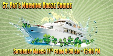 minneapolis boat show 2017 discount tickets st pat s morning booze cruise 2017 chicago il