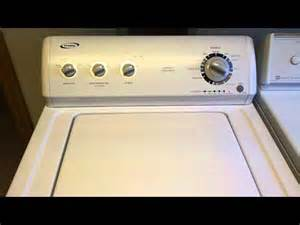 crosley washing machine wont drain whirlpool vertical modular washer vmw tech sheet