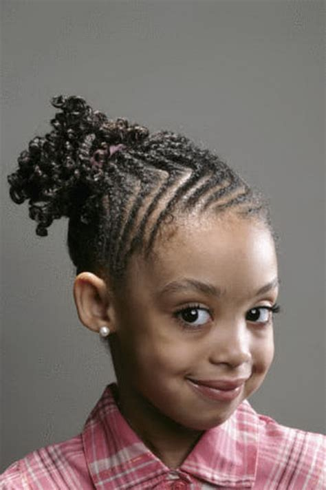 young black american women hair style corn row based braided hairstyles for little black girls