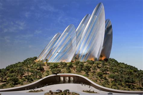 design concept uae norman foster architect modern magazin
