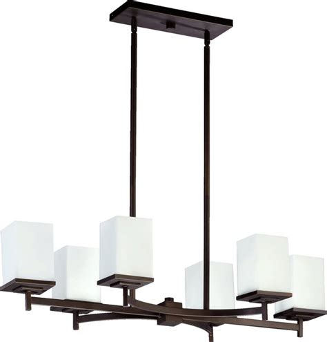 Quorum Lighting Delta Modern Contemporary Kitchen Island Modern Kitchen Table Lighting