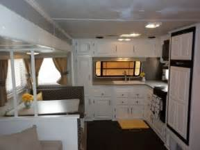 camper renovations camper travel trailer rv remodel my parents gave us their