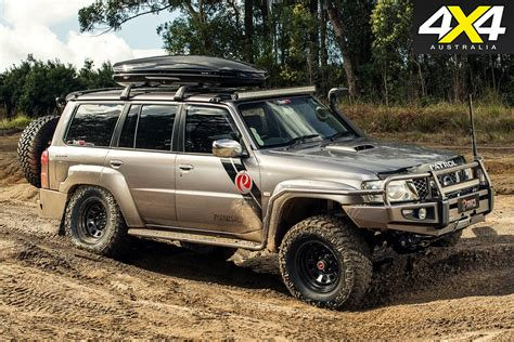 nissan patrol 1990 modified nissan patrol gets v8 might 4x4 australia