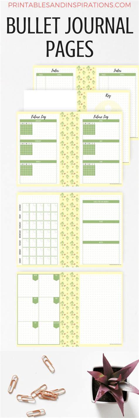 free printable journal ideas 82 best journal printables images on pinterest planner