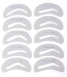 Stencils 1000 images about eyebrows on pinterest eyebrow stencil
