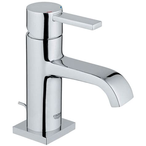 grohe concetto 4 in centerset single handle bathroom faucet in starlight chrome 34270001 the grohe eurostyle cosmopolitan single hole single handle