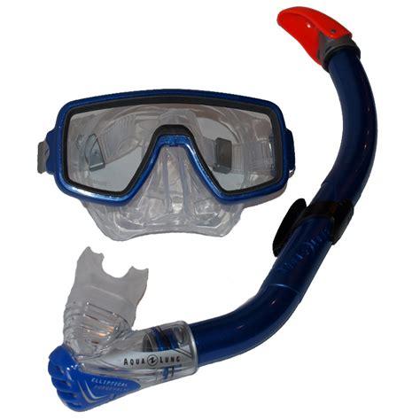 Snorkel Aqualung Heliox aqua lung ventura heliox midi set dive blauw