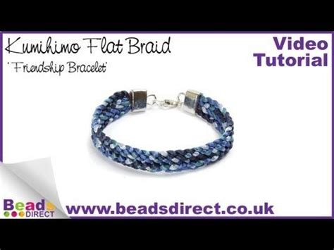 tutorial kumihimo youtube jewellery making braids and flats on pinterest