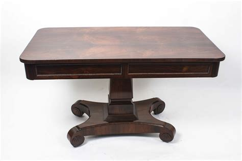 C Sofa Table by Antique Wiliam Iv Rosewood Writing Sofa Table C 1830