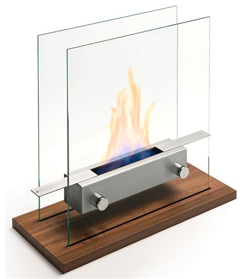 large apollo tabletop fireplace by carl mertens