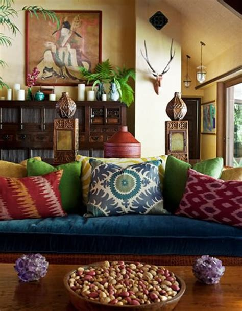 bohemian home decor ideas for exemplary exclusive bohemian home moon to moon luxury bohemian interiors martyn lawrence