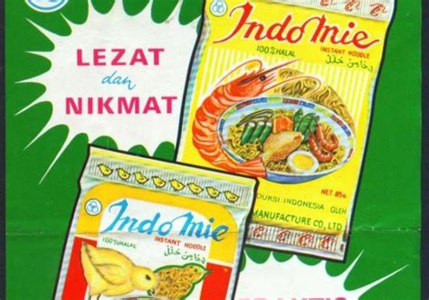 Indomie Jadoel Indomie Vintage koleksi tempo doeloe iklan jadul quot indomie quot dari awal th