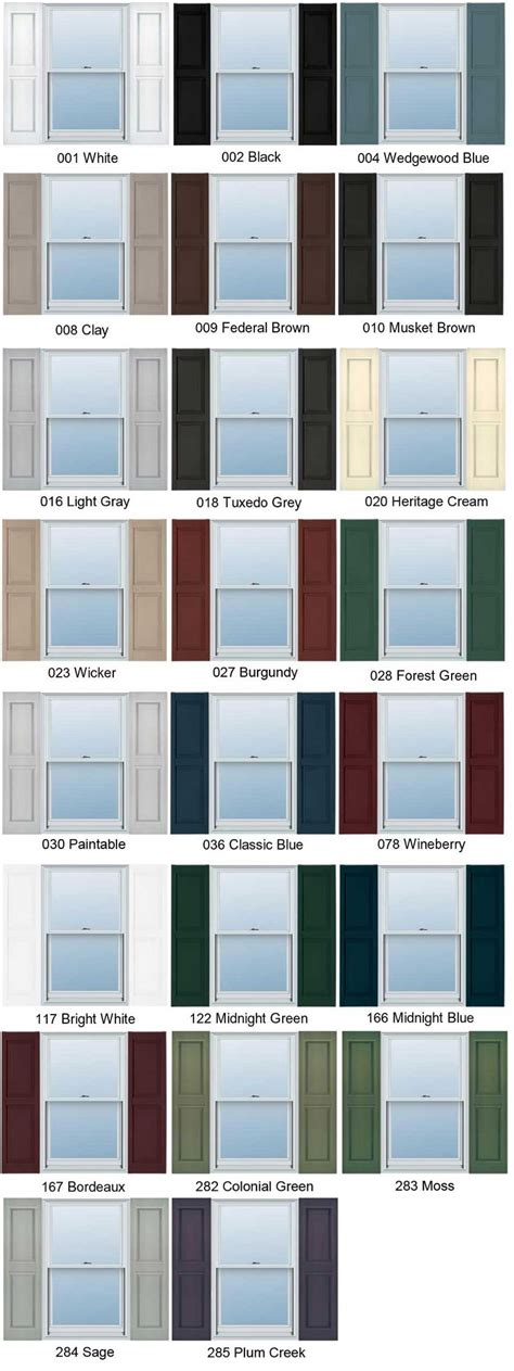 shutter paint colors 27 best vinyl siding picts images on pinterest vinyl