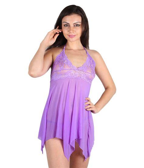 Dress Babydoll 508purple Buy Kamuk Purple Babydoll Dress With