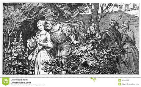 faust 1 garten faust illustration redaktionelles bild bild teufel