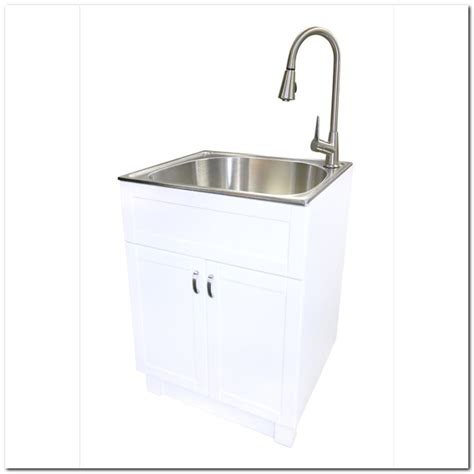 free standing laundry sink free standing laundry sink cabinet sink and faucet