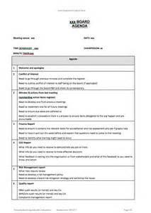 governance meeting agenda template resources archive aboriginal health council