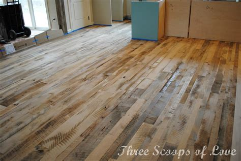 Three Scoops Of Love Our Wood Floor