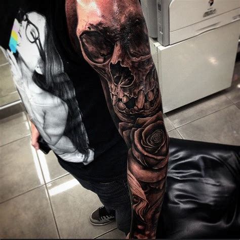 17 syndicate tattoos quot la 17 best images about skull tattoos on new