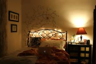 Pretty Bedroom Lights Bed Lights Photography Image 417548 On Favim