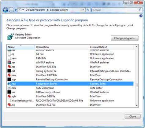 file format registry associate file types windows xp in registry download free