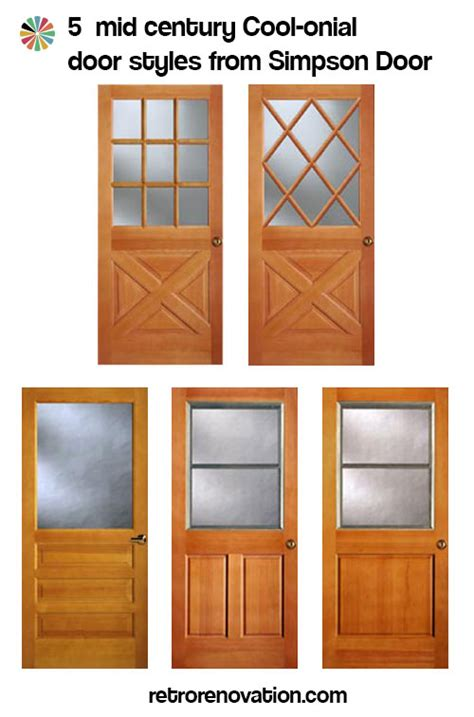 Interior Colors That Sell Homes colonial style front doors for mid century houses five