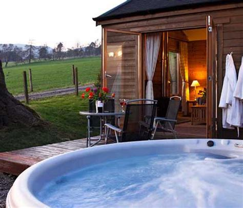 Self Catering Cottages With Tub by Log Cabins In Scotland With Tubs Self Catering Lodge