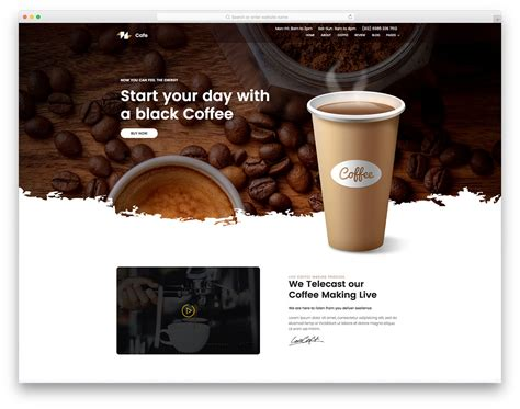 Coffee Free Coffee Shop Website Template Colorlib Coffee Shop Website Template Free