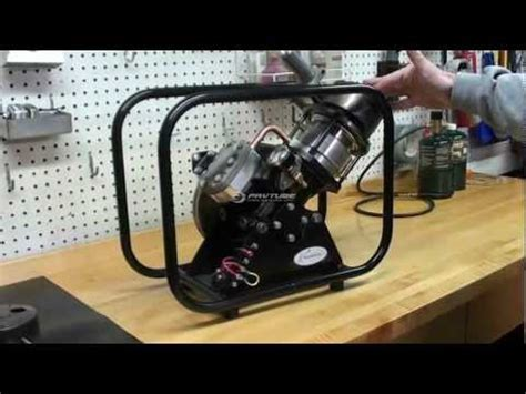 stirling engine sv2 mkii by kirk engines inc