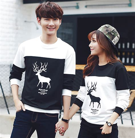 The Couples Clothing Sleeved Neck Clothes T