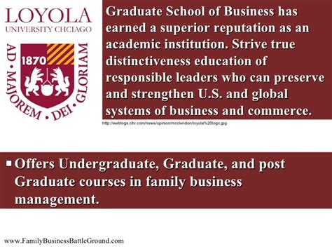 Http Academics Jwu Edu School Of Business Mba Operations Supply Chain Management by 5 Top Business Schools Offering Family Business Programs