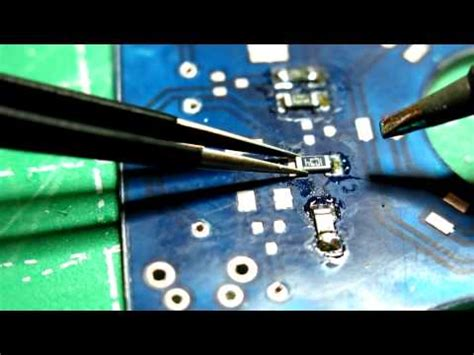 smd resistor replacement soldering 1206 smd resistor