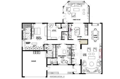 Floor Layout Plans Small Open Concept Kitchen Layouts Bungalow Open Concept Floor Plans Bungalow Layouts