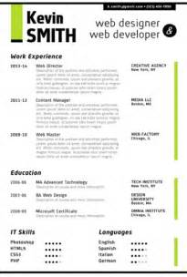 Cool Resume Templates For Word by Creative Resume Template Trendy Resumes