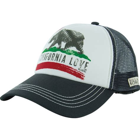 billabong pitstop trucker hat s