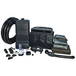 aquascape pondless waterfall kit aquascape large pondless waterfall kit with tsurumi 5pl